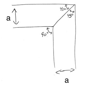 Angle Distribution For Non-90º Miters