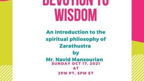 Devotion to Wisdom - Talk by Navid Mansourian