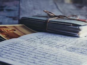 HAVE YOU WRITTEN TO SOMEONE SPECIAL RECENTLY?