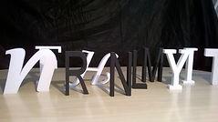 Fabricante de letras caixa em São Paulo, letras caixa em EPS, produtos de isopor