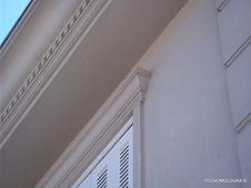 Moldura para fachada em EPS, moldura externa em EPS, Tecnomoldura