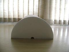 Cilindros de isopor, cilindros EPS, isopor para uso em calhas