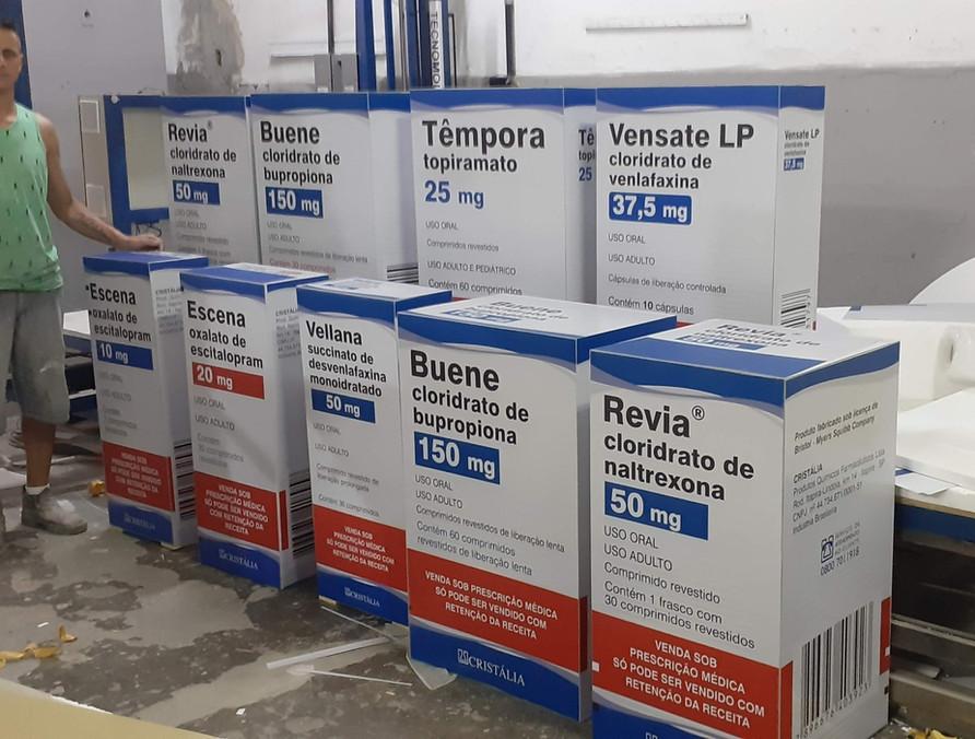 Caixa de remedio gigante 1m