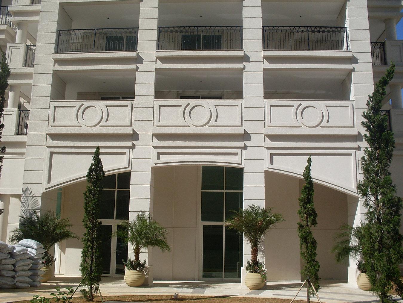 Tecnomoldura molduras em eps para fachadas - Molduras para fachadas ...