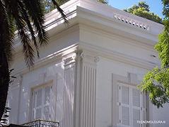 Colunas decorativas de EPS, colunas em isopor para fachadas