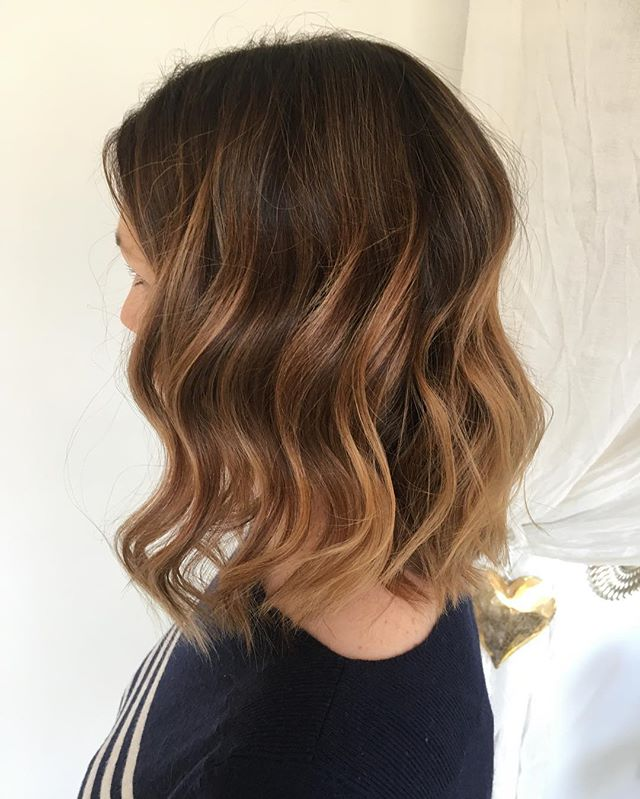 In Love With This #ColorMelt For _duffymoo 😍😍😍 Color & Cut By ___coco_love__ _#colormelt #bayalage #kelownashiddengem #purnamastylelounge #k