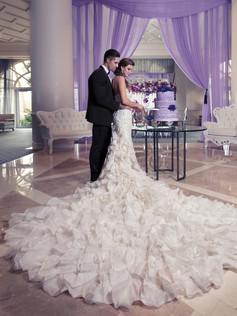 Yumi Katsura Bridal in Four Seasons Palm Beach