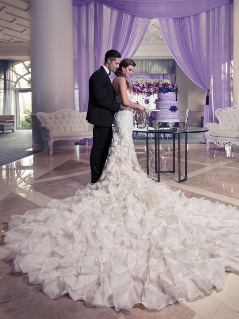 Yumi Katsura Bridal in Four Seasons Palm Beach