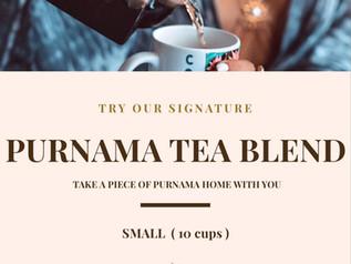 Try Our Signature PURNAMA Blend Tea