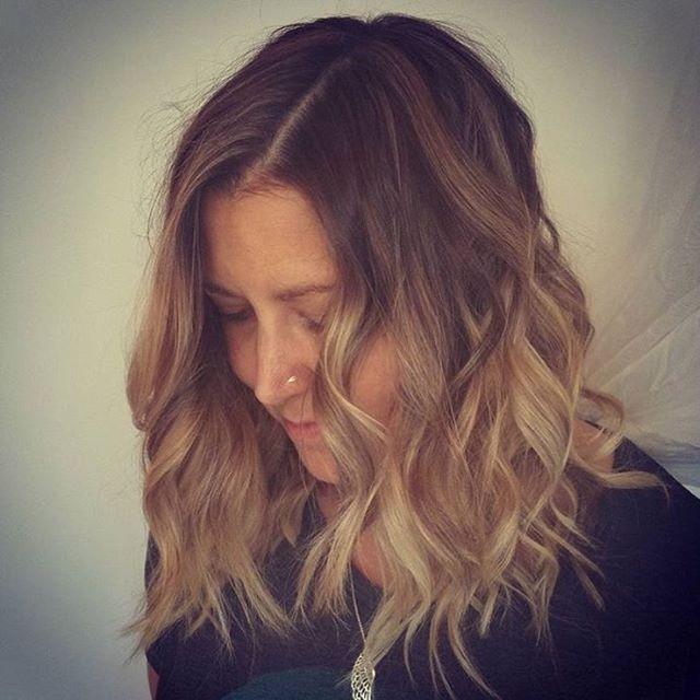 Obessed With This Buttery Blonde By _neevakinehair 😍__#babylights #sunkissedhair #HairGoals #kelownahairstylist #kelownahair #kelownasalon #