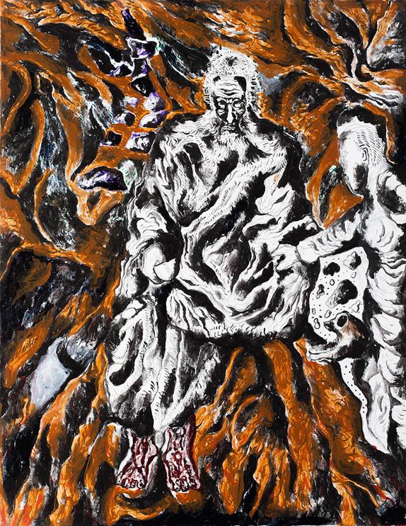 Untitled 2013 Acrylic on Canvas