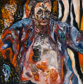 Portrait of Assi Dayan 2012 Oil on Canvas