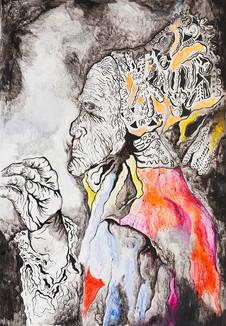 Lady MacBeth 2011 Acrylic on Canvas