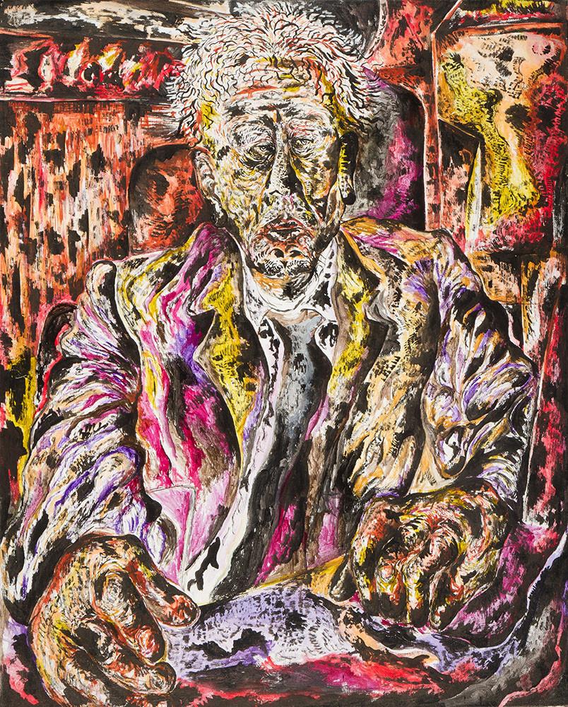 Portrait 2013 Acrylic on Canvas