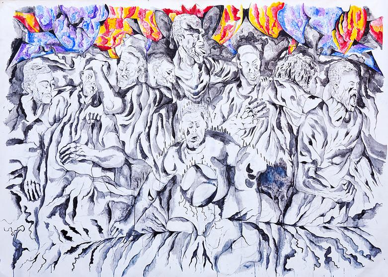 Victory 2011 Acrylic on Canvas