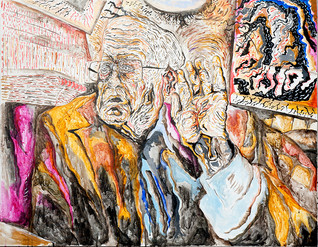 Gunnar von Schlippe (2010) Acrylic on Canvas