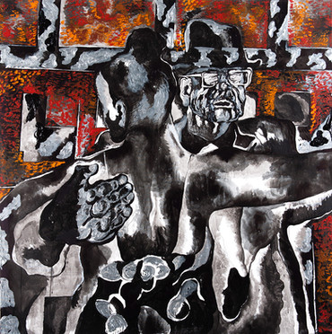 Tango 2013 Acrylic on Canvas