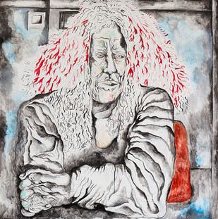 Red-Headed Man 2011 Acrylic on Canvas