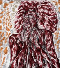 Crisis 2014 Acrylic on Canvas