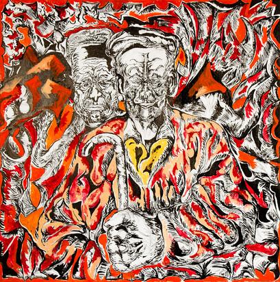 Franz 2012 Acrylic on Canvas