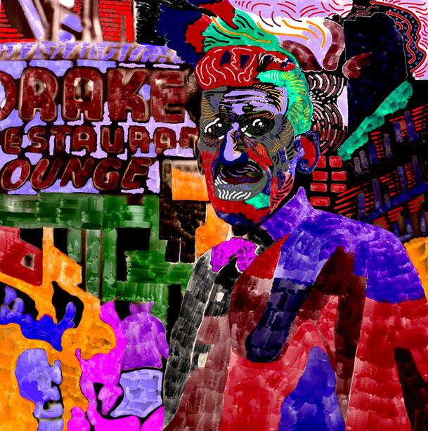 Downtown (2019), digital art on paper