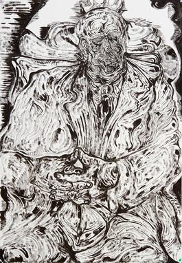 Fallstaff - 2018 Ink on paper