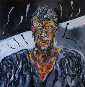 Anguish (2010) Acrylic on Canvas