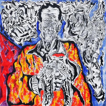 Friends 2012 Acrylic on Canvas