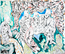 Pieta 2009 Acrylic on Canvas