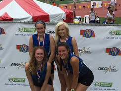4th 4x800 Relay