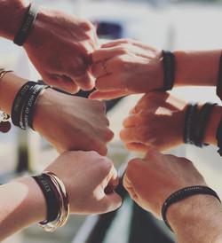 Friends of JPF in Newport Beach - Keep Going Wristband