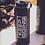 Thumbnail: Matte Black 40oz Stainless Steel Thermal Bottle