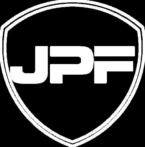 JPF white logo