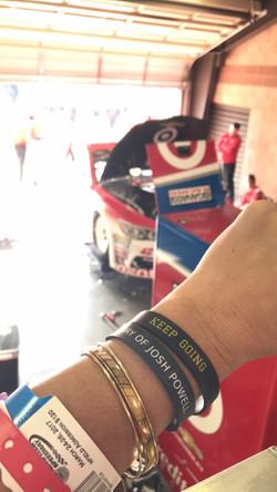 JPF Keep Going Wristband - Nascar