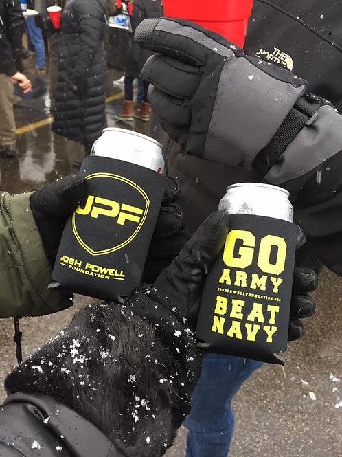 JPF Go Army Beat Navy Koozie