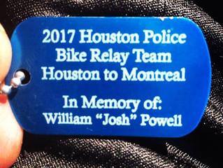 Houston Police Bike Relay Team
