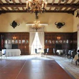 reception area with dance floor