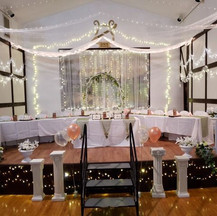 bridal party stage