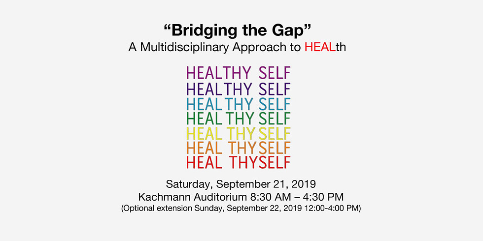 """Bridging the Gap"""