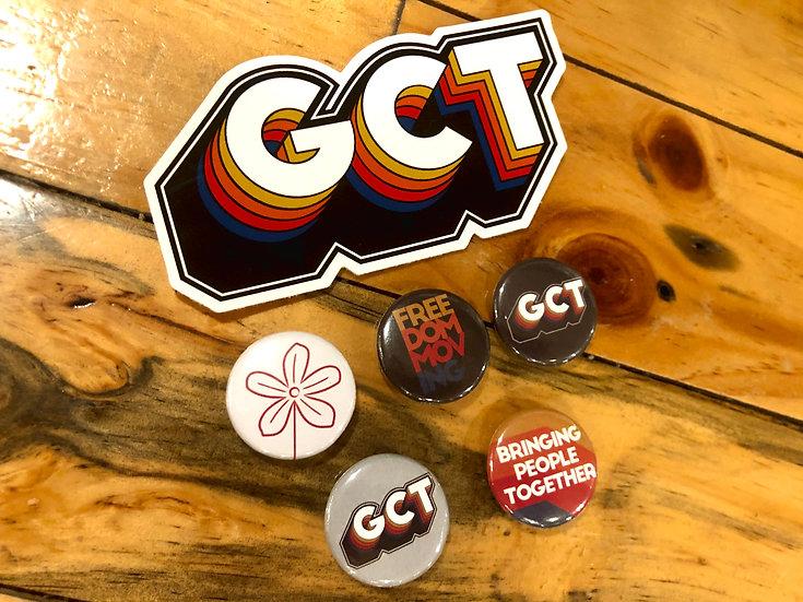 GCT Badges - 5 Pack
