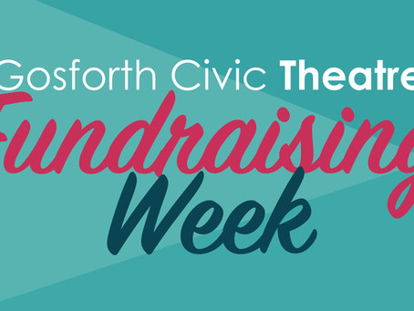 Help Raise Money for Gosforth Civic Theatre in our First Ever Fundraising Week