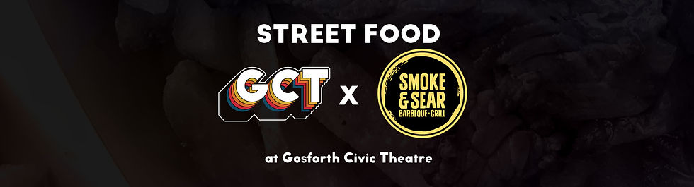 Street Food at GCT - Smoke and sear for