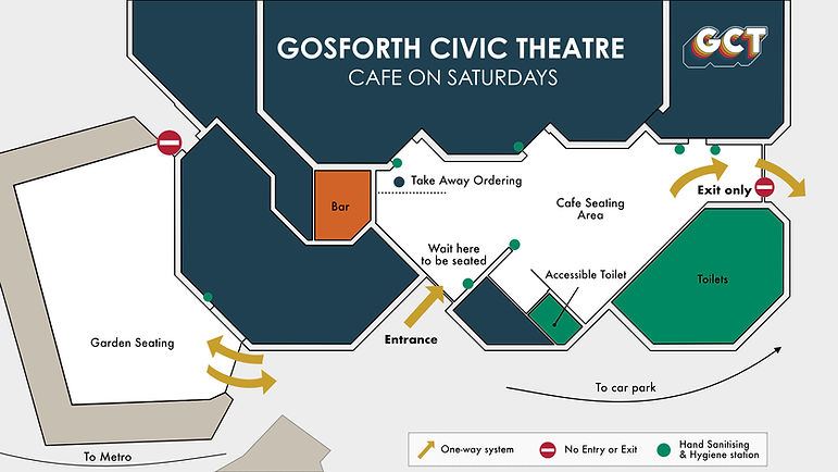 Floor Plan [cafe on Saturdays] for custo
