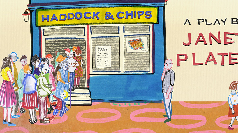Haddock & Chips by Janet Plater