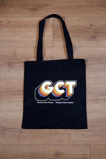 GCT Logo Tote Bag in Black