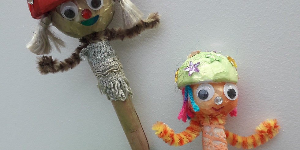 Puppet Workshop with Puppetship: Witchy Woodland