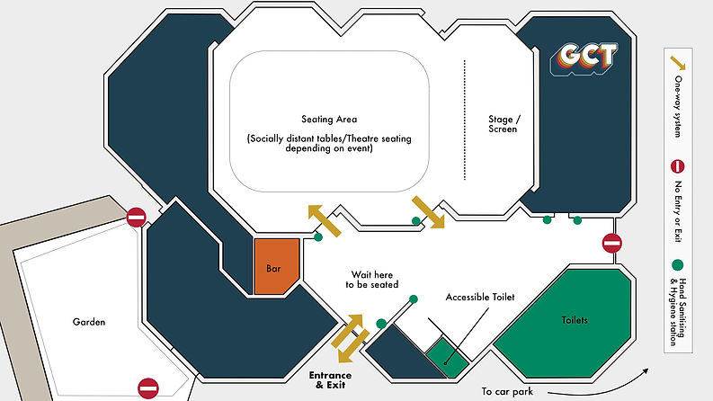 Indoor event Floor Plan for customers.jp