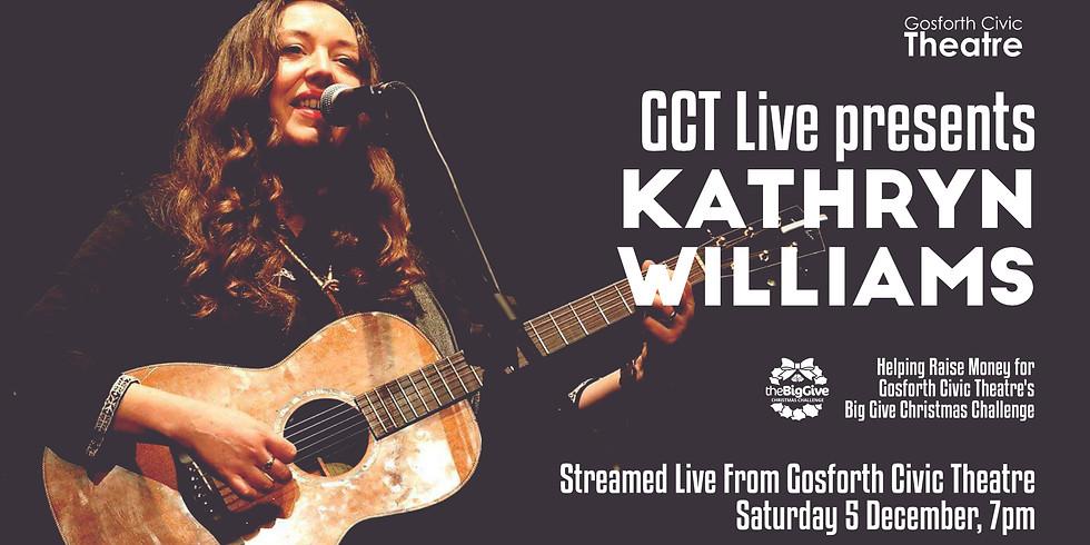 GCT Live presents: Kathryn Williams