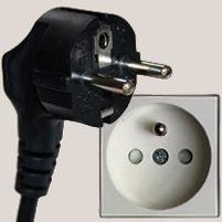 European plug type E