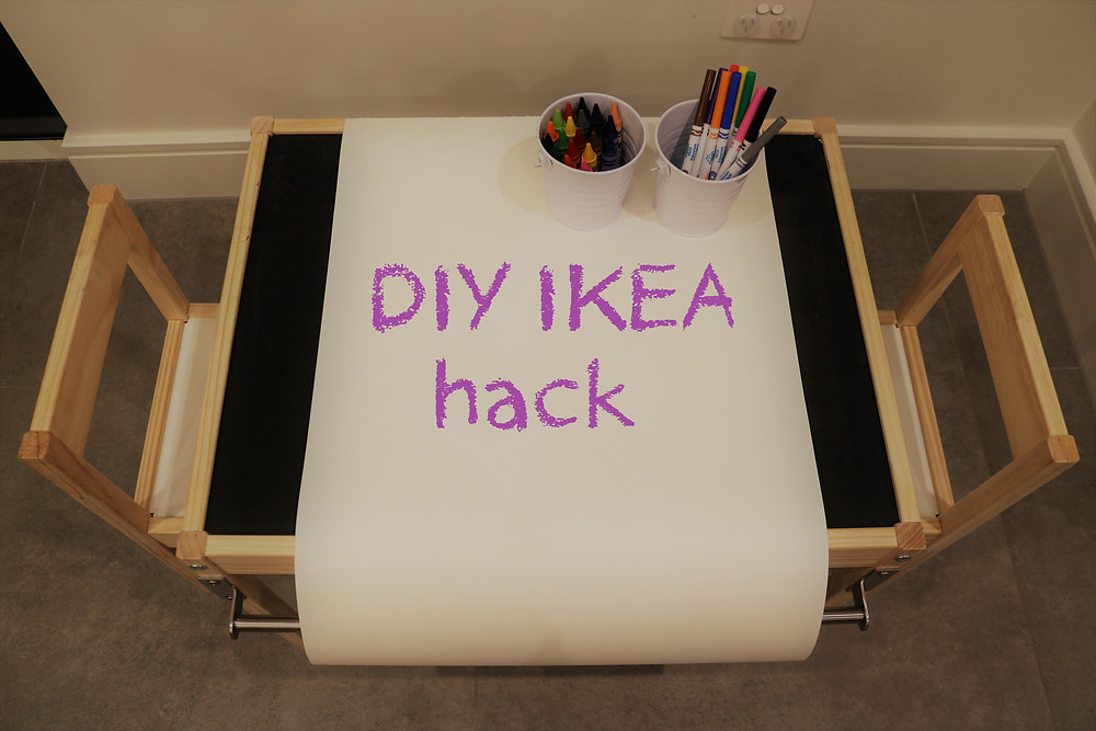 IKEA Latt Kids table DIY hack